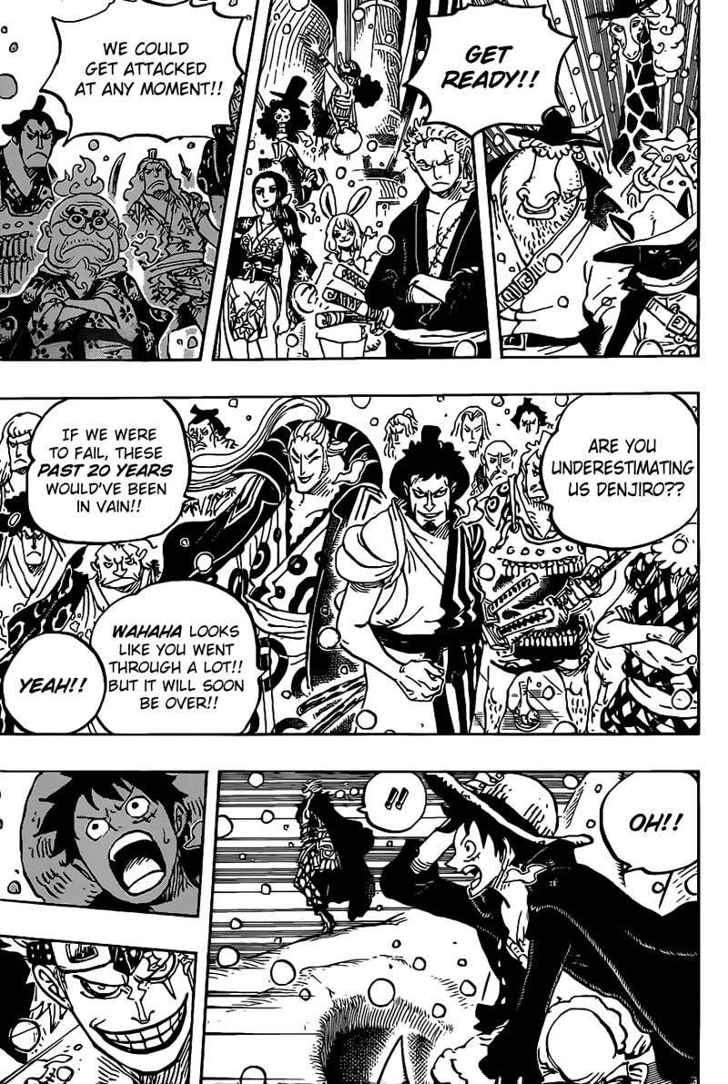 One Piece Manga Chapter 978 - Image 004