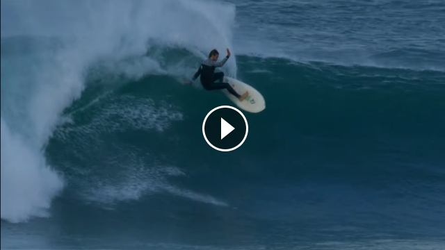 "Exclusive Willi Aliotti Surfed Mundaka s Swell of the Decade on a 5 3"" Twinnie"