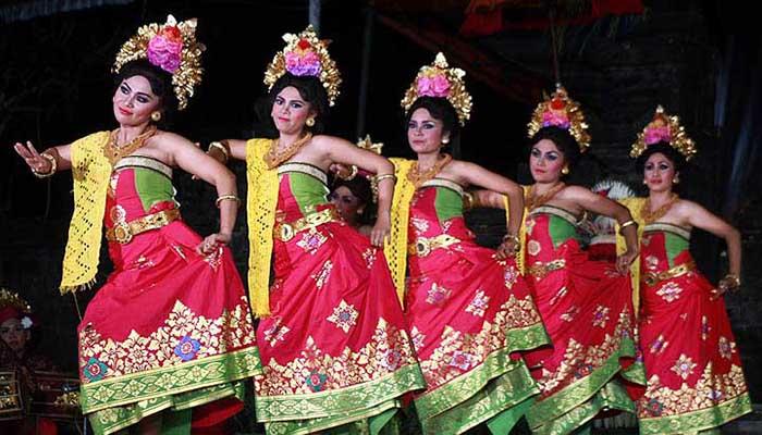 Tari Puspanjali, Tarian Tradisional Dari Bali