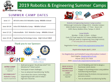 2019 Kids Summer Camps!