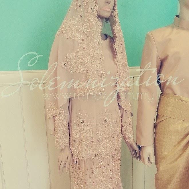 busana pengantin 2014 Minaz Boutique