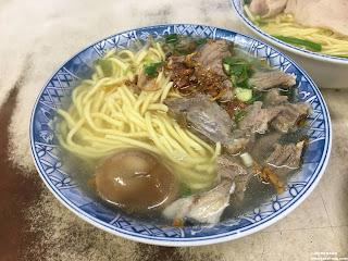 豬頭肉麵NT$70