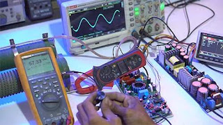 Test Load Class-D Amplifier D1K5 Pro Double Feedback at 4 OHM LOAD