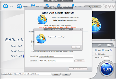 WinX DVD Ripper - Giveaway License