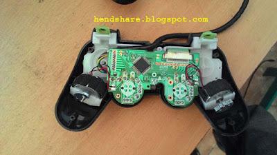 cara memperbaiki controller ps2 yang rusak