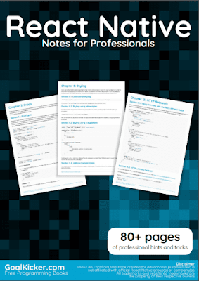 react native pdf book notes download for free