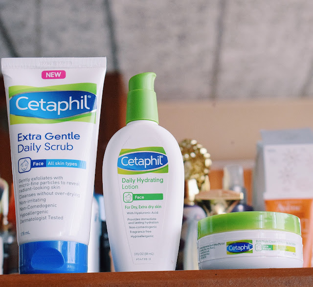 CETAPHIL NEW PRODUCT REVIEW - WINTER SKINCARE ROUTINE