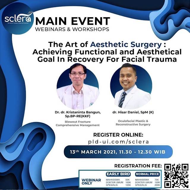 WEBINAR & WORKSHOP  SCLERA (Symposium of Common Ophthalmological Problems & Management)