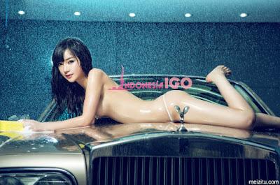 Foto Bugil Model Han Zi Xuan Majalah Dewasa China