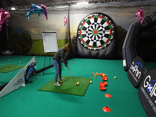 Golphin's Golf Darts at the American Golf Show in Manchester
