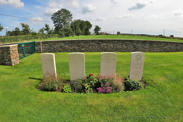 Graves of Indian Soldiers of First World War in Belgium - Railway Dugouts Burial Ground