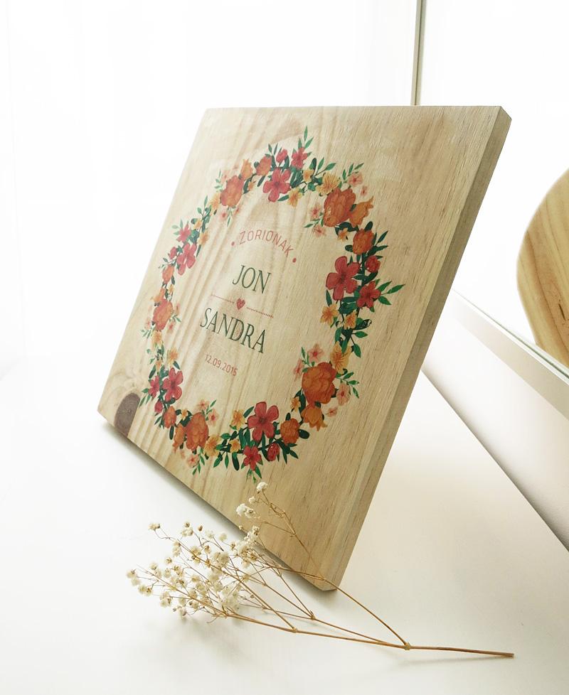 Decorar en familia: Diy madera personalizada con gel transfer10