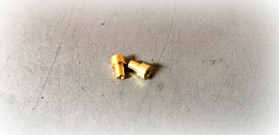 Custom Electronics Standoffs In Plain Brass Material With 2-56 Thread