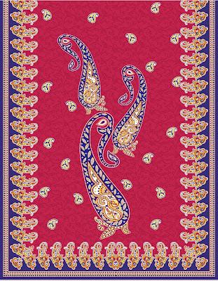 Lavanya-Geometric-Textile-Kaftan-68-Back