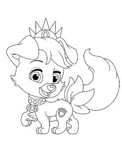 כלבים של נסיכות הארמון דפיים לצביעה