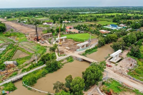 Cao tốc Trung Lương – Mỹ Thuận sau 10 năm khởi công 9