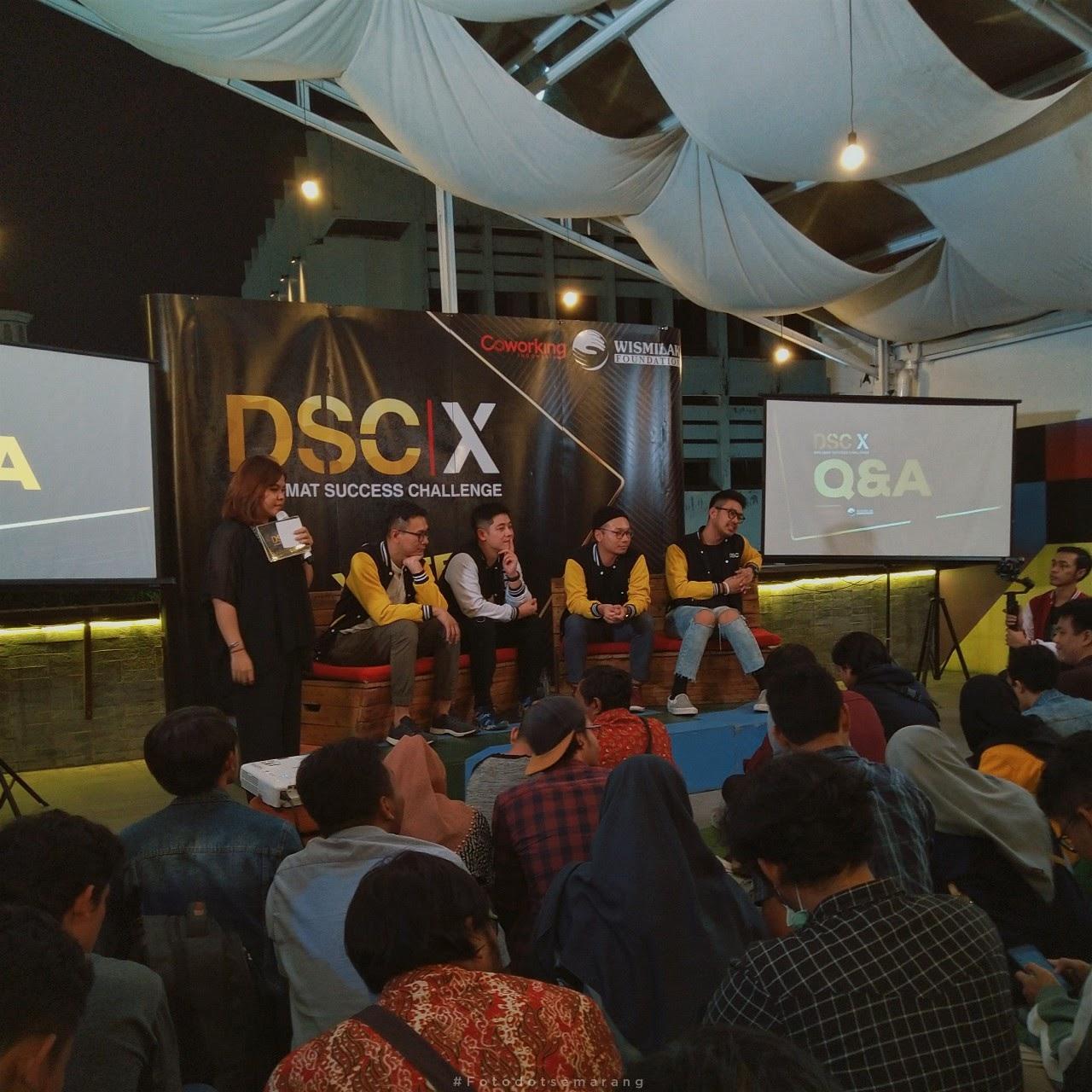Dianggap Berpotensi, Semarang Dipilih Sebagai Salah Satu Kota Roadshow Kompetisi Kewirausahaan DSC|X 2019