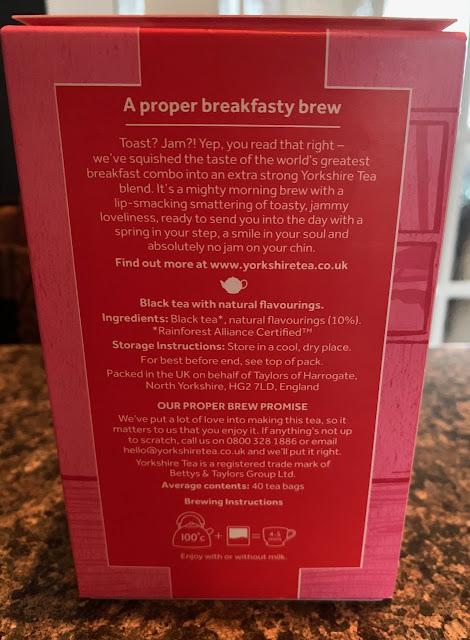 Toast & Jam Yorkshire Tea