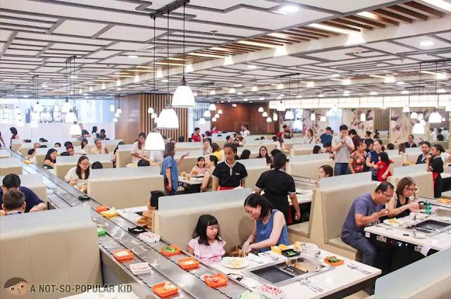 Interior of Hosaku International Buffet, SM North Towers