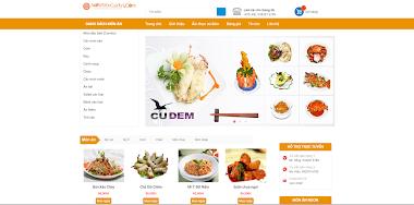 Thiết kế website bán đồ ăn đẹp giá rẻ