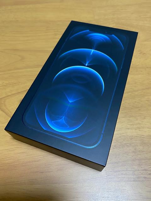 iPhone 12 Pro Max 128GB パシフィックブルー