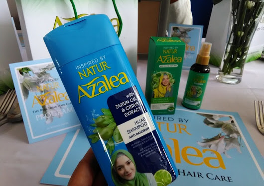 Azalea Hijab Shampo : Your Best Hair Care Inspired By NATUR For Hijabers