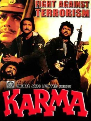 Karma 1986 Full Hindi Movie Download HDRip 720p