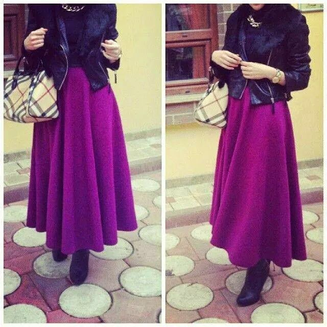 robe-hijab-violet-avec-bottines