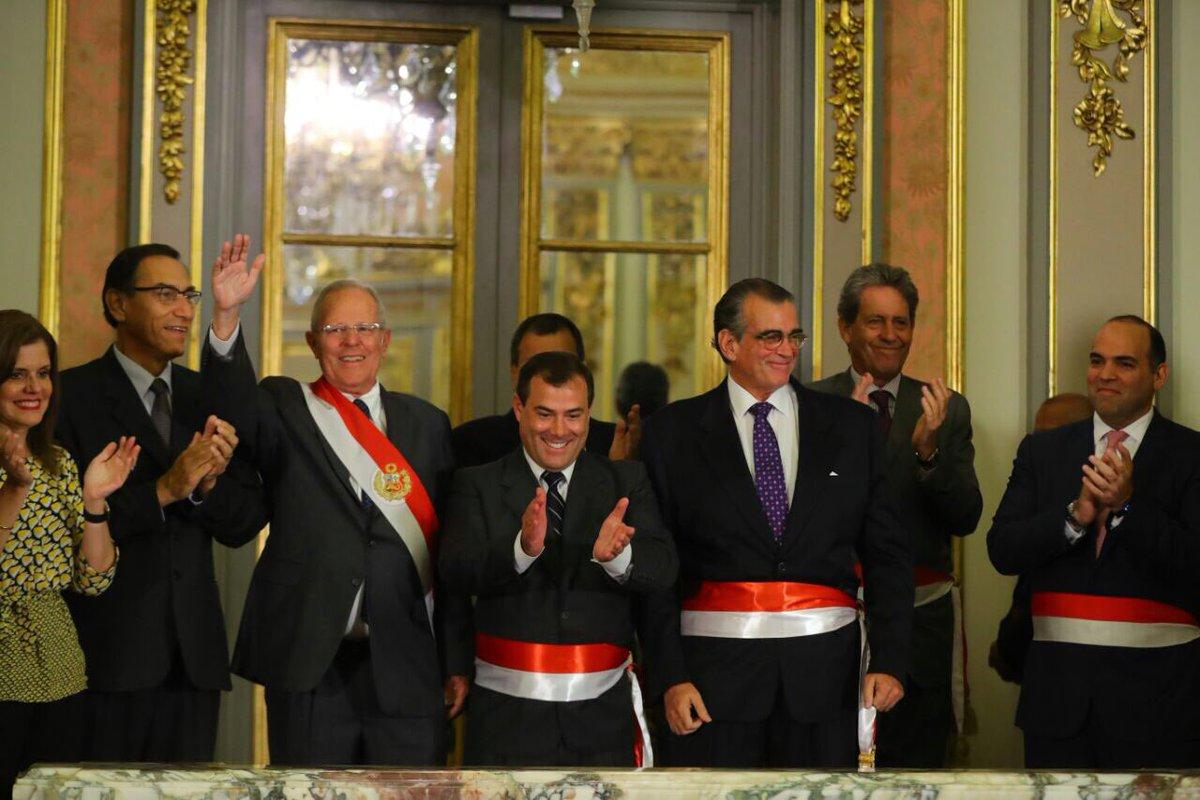 Nombres de los ministros del per 2017 for Nuevo ministro del interior peru