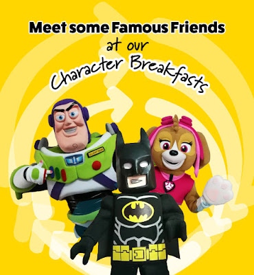 360 Play Milton Keynes Character Breakfast