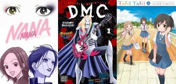 anime tentang musik terkeren populer