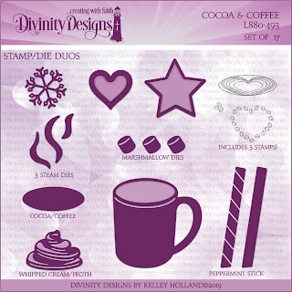 Stamp/Die Duos: Cocoa & Coffee