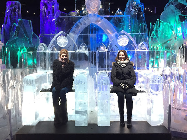 Ice throne at Winter Wonderland