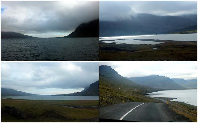 fiordos en Islandia, y soledad