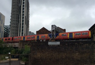 A London Train, Up on the Elevation