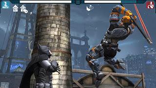 Adalah sebuah game yang mengusung tipe gameplay fighting  Unduh Game Android Gratis Batman Arkham Origins apk + obb
