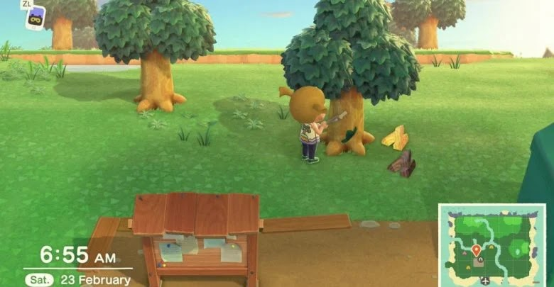 What to do to get all types of wood and what they are for in Animal Crossing: New Horizons
