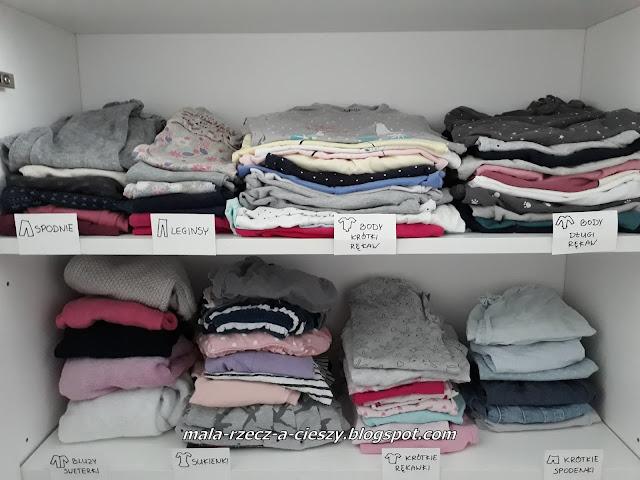 Organizacja szafy dziecka - jak łatwo zachować porządek?