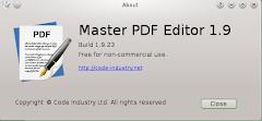Edit PDF dengan Master PDF Editor di Linux