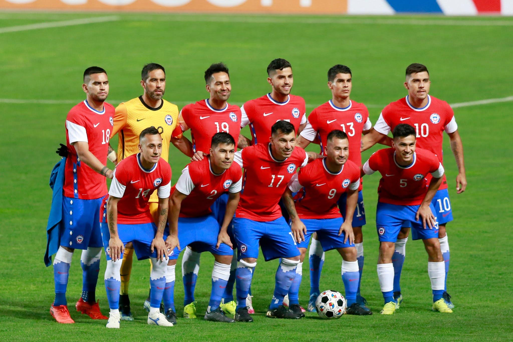 Formación de Chile ante Bolivia, amistoso disputado el 26 de marzo de 2021