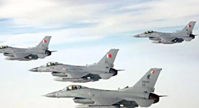 طبول الحرب تقرع بالخليج: مقاتلات بحرينية تخترق أجواء قطر..