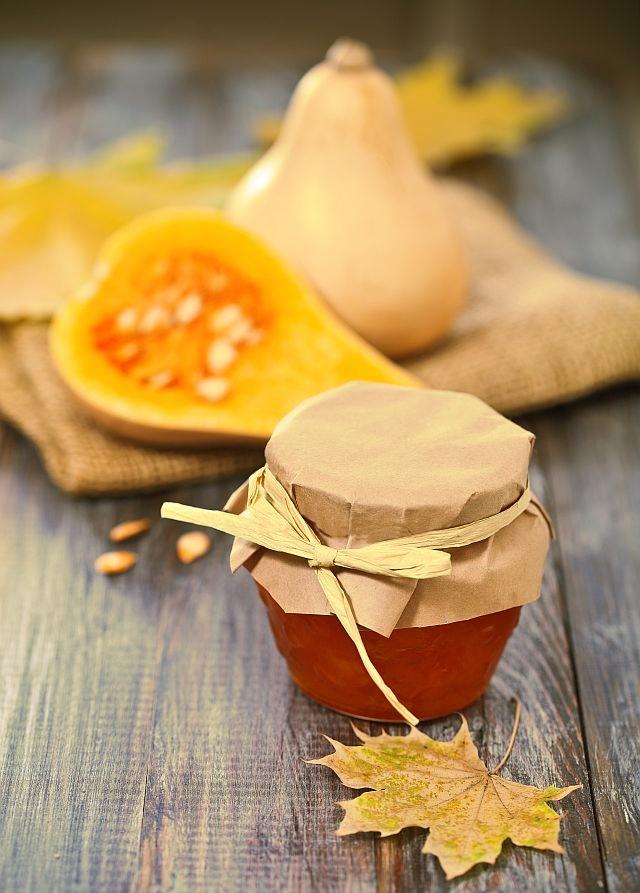 Dżem z dyni z pomarańczą i cynamonem