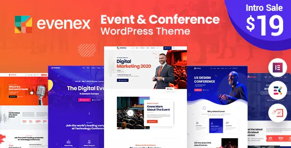 Best Event Conference WordPress Theme