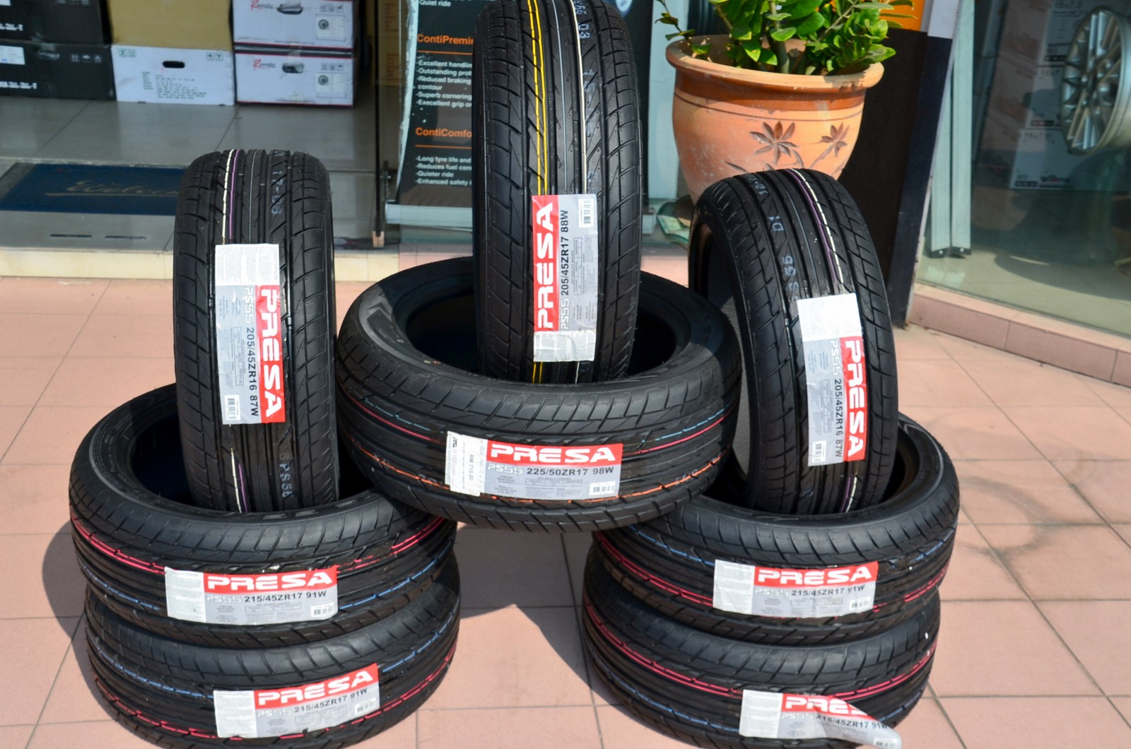 185 60R14 Tires >> Tyre and Rims (H2O One Stop Sdn. Bhd.): PRESA Tyres PS01 and PS55 Photo Gallery (First Showcase)