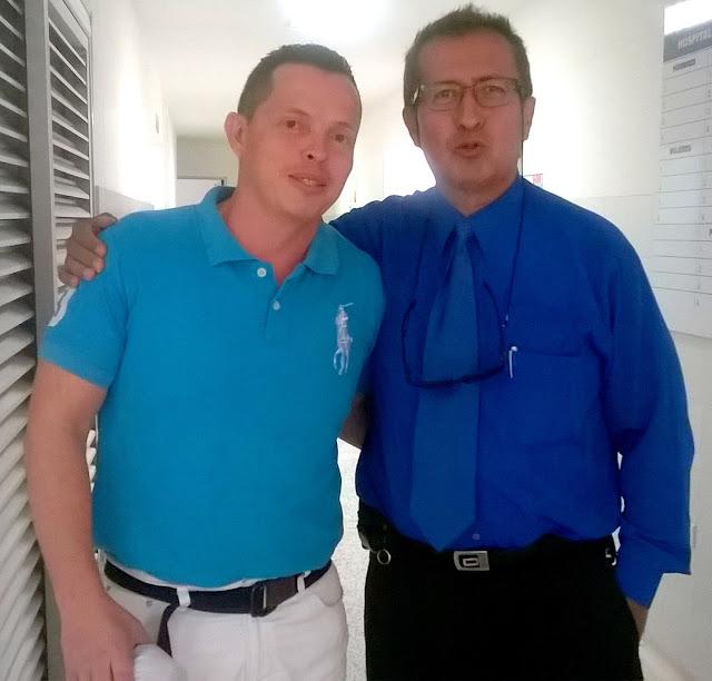 Vladimir Cáceres y Oswaldo Combariza invitan a utilizar Servicio Urgencias IMSALUD Comuneros-Cúcuta #RSY #VSY