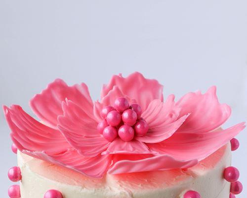 Σπιτικά διακοσμητικά λουλούδια για τούρτες