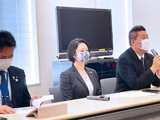 松田みき NHK党 出馬会見 衆院選