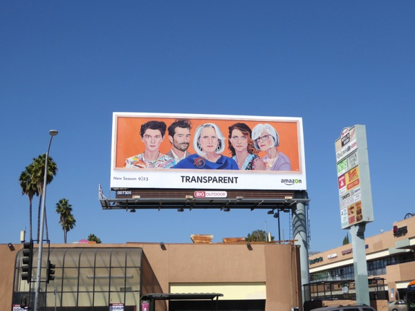 Transparent season 3 billboard