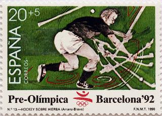 PRE-OLÍMPICA BARCELONA 92. HOCKEY SOBRE HIERBA