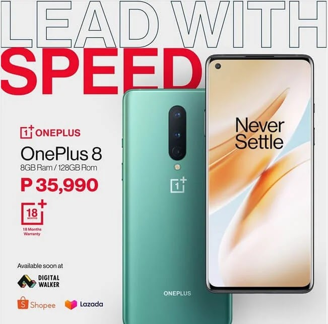 OnePlus 8 with Fluid Display, SD865 Chip, and Triple Camera Now Available for Php35,990